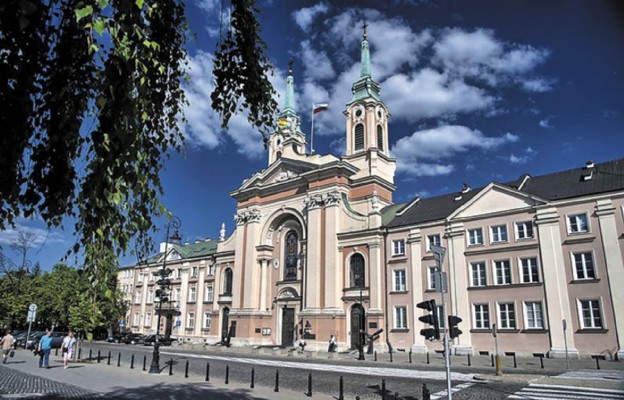 Katedra Polowa Wojska Polskiego, dawny dom pijarów