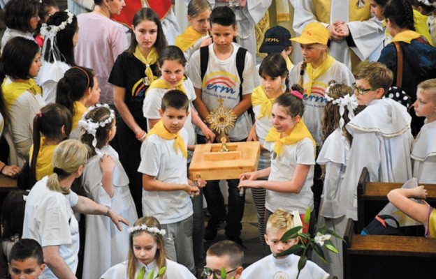Eucharystyczne święto dzieci z bł. Imeldą
