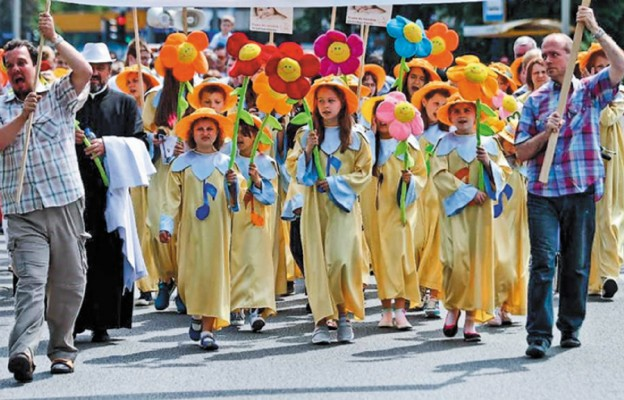 W Marszu szły dzieci z Ksawerowa