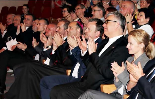 Wśród publiczności był bp Grzegorz Kaszak