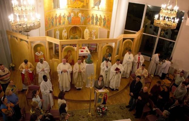 Rzymskokatolicki odpust w grekokatolickiej kaplicy UKU
