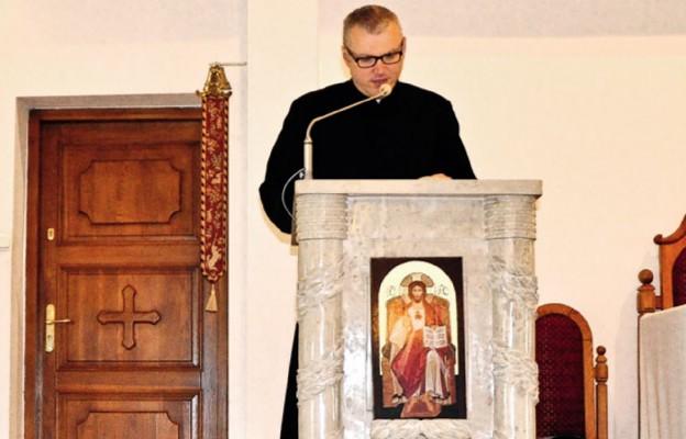Jednym z prelegentów był rektor WSD ks. dr Paweł Tambor
