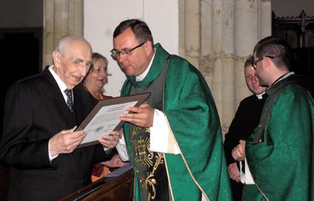 100. urodziny najstarszego organisty diecezji świdnickiej
