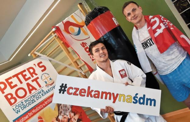 Ambasadorzy ŚDM – Aleksander Beta i Przemysław Wieczorek