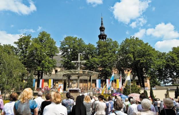 Msza św. w rocznicę pobytu św. Jana Pawła II w Kielcach