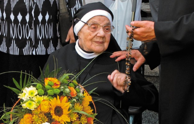 105. urodziny siostry Gabrieli