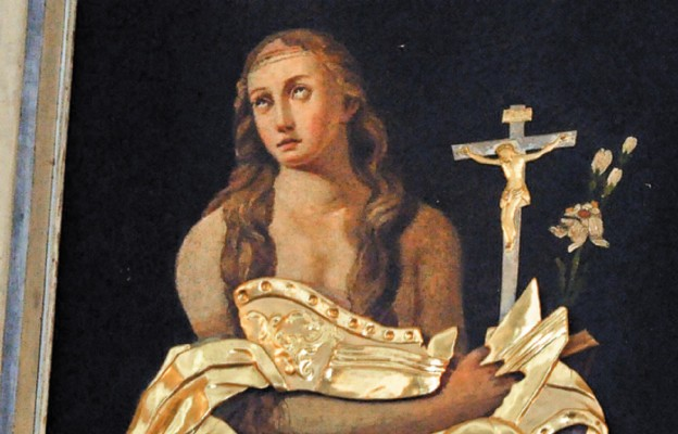 Obraz św. Marii Magdaleny z kościoła parafialnego