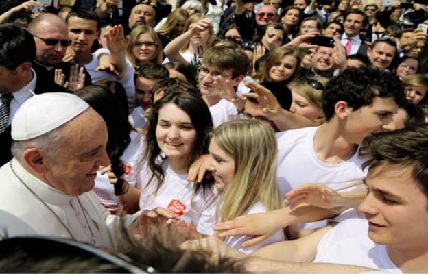 5. rocznica ŚDM w Krakowie: Drogowskazy papieża Franciszka dla młodych