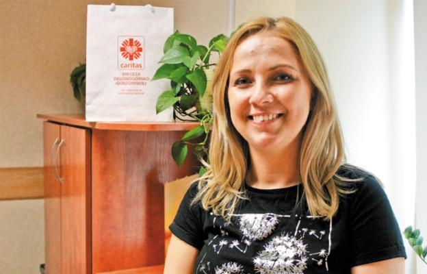 Anna Maria Fedurek, rzecznik prasowy Caritas diecezjalnej