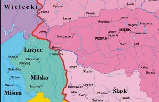 Ziemie nad środkową Odrą w czasach Mieszka I