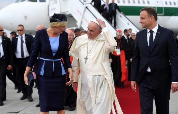 Franciszek w Polsce (dzień 1)