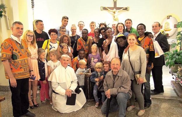 Otwarli serca na młodzież z Afryki