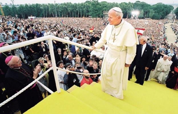 Byłem tuż przy Papieżu