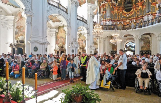 Krzeszów czeka na niepełnosprawnych pielgrzymów