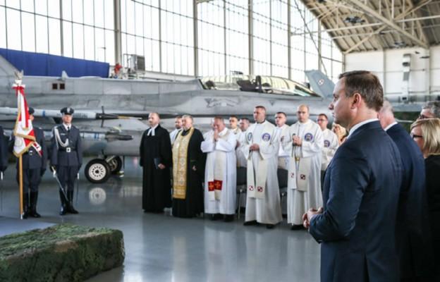 Prezydent RP na obchodach Święta Lotnictwa Polskiego