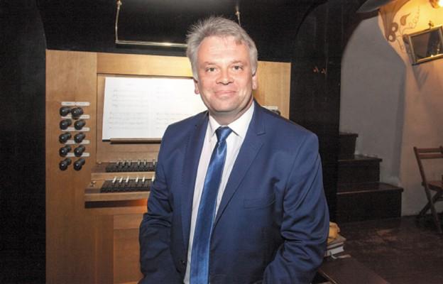 Dyrektor artystyczny festiwalu Marek Stefański