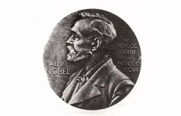 Z Sienkiewiczem na wręczeniu Nobla
