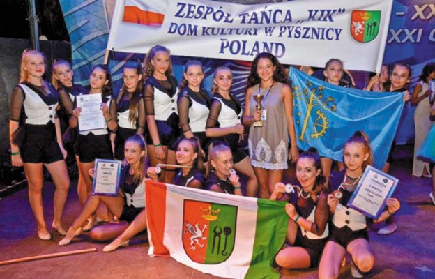 Sukces młodych tancerek