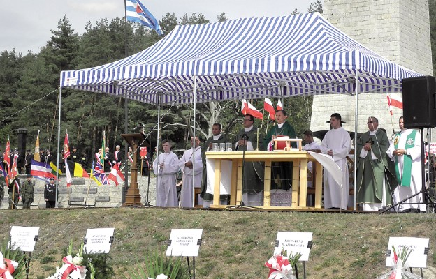 Msza św. za więźniów i ofiary hitlerowskiego obozu