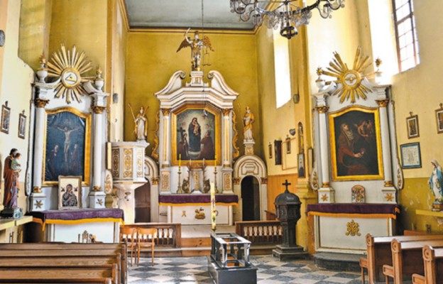 Wnętrze kaplicy św. Michała Archanioła