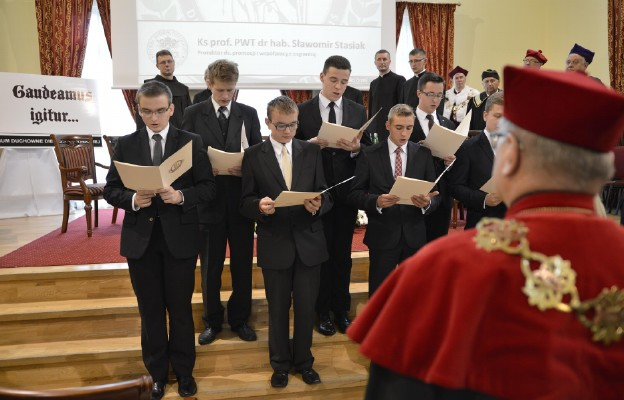 Klerycy I roku złożyli ślubowanie
