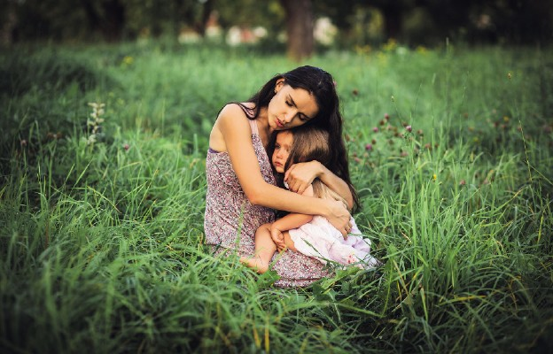 Adoptowane dziecko, przygarnięty pies