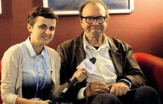 Małgorzata Godzisz z Michałem Lorencem