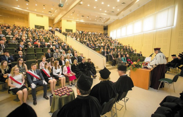 Inauguracja roku akademickiego w Wyższej Szkole Prawa i Administracji