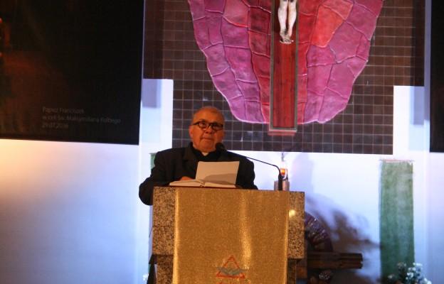 Ks. prof. Kazimierz  Szymonik wygłosił wykład na temat muzyki w liturgii