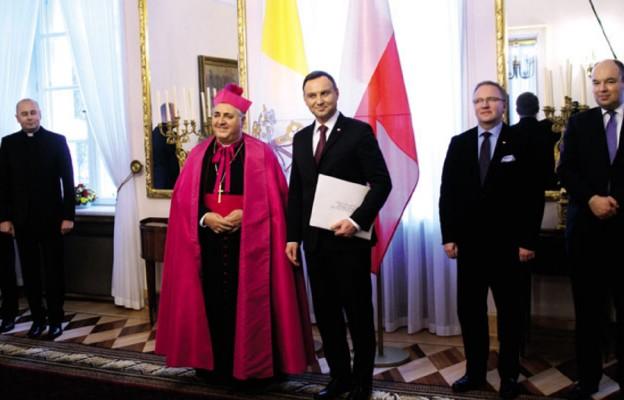 Nowy gospodarz w nuncjaturze