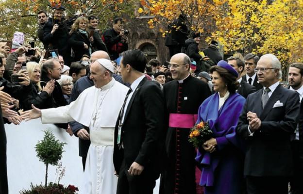 Papież zszywa rozdarty świat