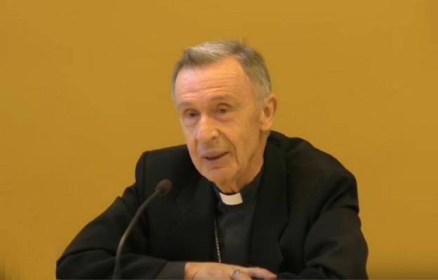 Abp Luis Francisco Ladaria Ferrer, sekretarz Kongregacja Nauki Wiary