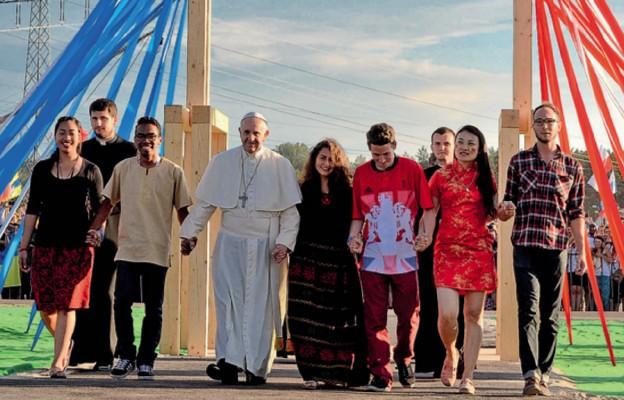Papież Franciszek chce nas zabrać do nieba