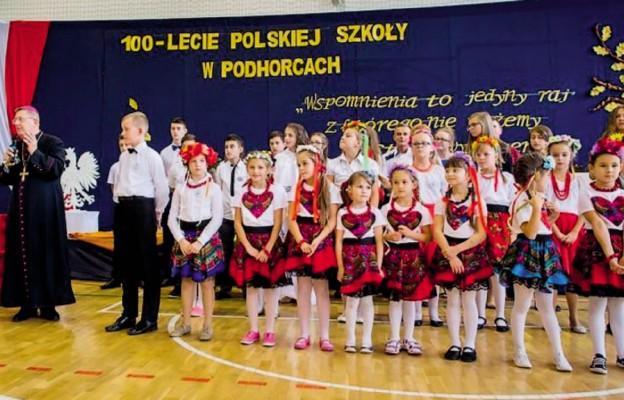 100-lecie polskiej szkoły w Podhorcach