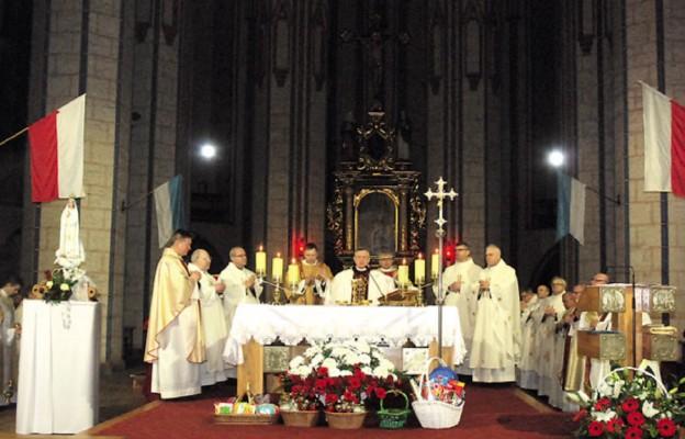 Dziękczynienie za Rok Miłosierdzia w stargardzkiej kolegiacie