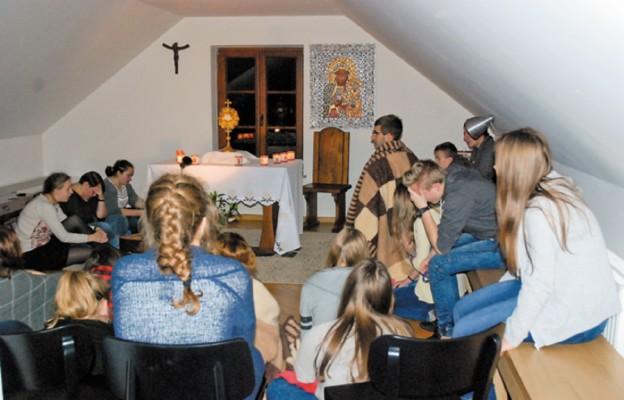 Adoracja była naszym osobistym spotkaniem z Panem Bogiem