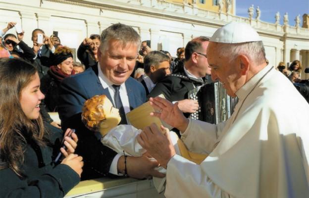 Papież Kielcom błogosławi