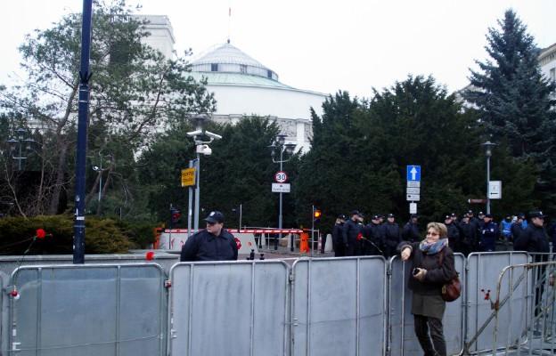 Wjazd do Sejmu