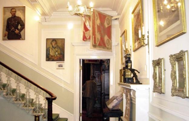 Wnętrze Instytutu Polskiego i Muzeum im. gen. Władysława Sikorskiego w Londynie