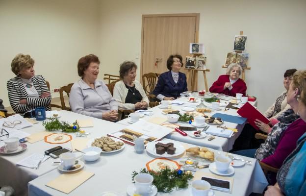 Klimat spotkania wymusił też niejako wspomnienia na temat Bożego Narodzenia