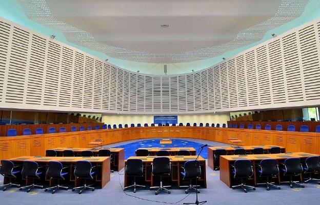 Główna sala rozpraw Trybunału