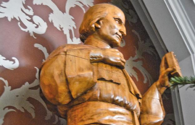 Rzeźba św. Wincentego Pallottiego