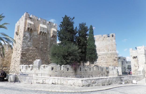 Jerozolima – Wieża Dawida, grzesznego króla o wrażliwym sumieniu