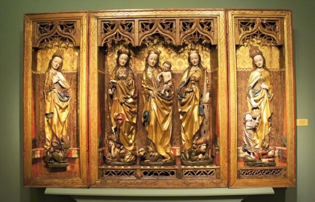 Tryptyk Świętych Dziewic powróci