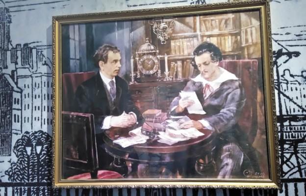 W ekspozycji dotyczącej okresu paryskiego został podkreślony wątek niezwykłej przyjaźni św. Felińskiego z Juliuszem Słowackim