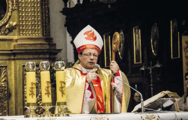 Mszy św. przewodniczył bp Grzegorz Ryś