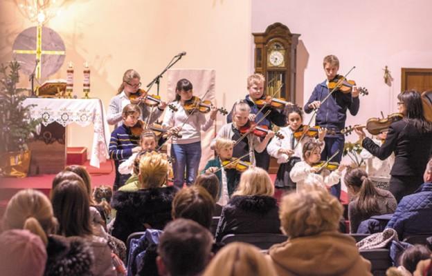 Koncert młodych skrzypków