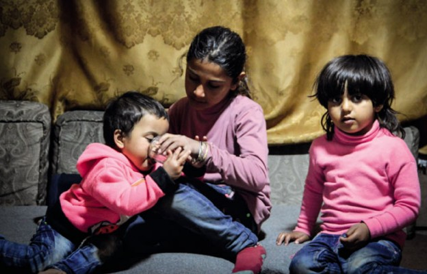 Caritas Polska pomaga syryjskim uchodźcom w Jordanii