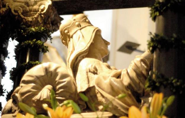 Grób św. Jadwigi Śląskiej w Trzebnicy
