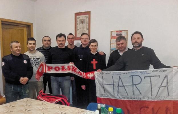 Ekipa budowlana z Podkarpacia w placówce Ojców Kamilianów w Tbilisi